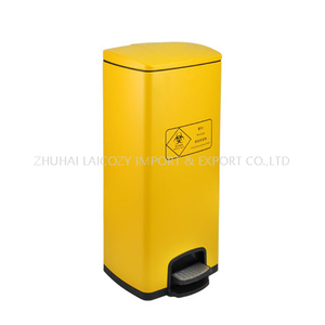 Freestanding Stainless Steel Dustbin for Medical Waste 30L