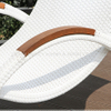 Outdoor Luxury PE Rattan Lounge for Swimming Pool