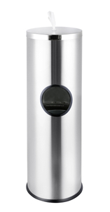 Floor Stand 304 Stainless Steel Sanitizing Wipe Dispenser