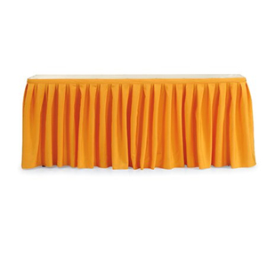hotel restuarant skirting table cloth with diversify design options