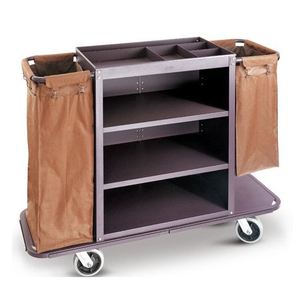 Hot Sale Hotel Metal Housekeeping Room Service Trolley