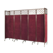 classical restaurant partition with particular design for hotel