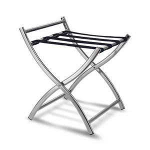 Wholesale folding stainless steel hotel luggage rack