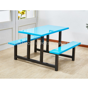 Colourful School Hotel Restaurant Staff Canteen Dining Table