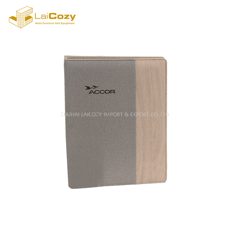 Fashion Hotel Guestroom Customized Bamboo Leather Set