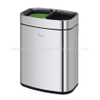 430 Stainless Steel Guest Room Dust Bin 10L Trash Can