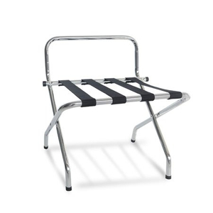 Chrome cheap economic steel room luggage rack