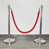Durable velour ropes with stainless steel hook for crowd control