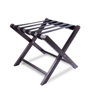 Hotel room WPC plastic luggage rack stand foldable