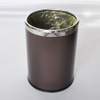 Hotel indoor room dustbin steel round dustbins
