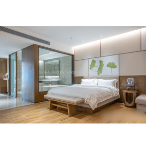 Customize Hotel/Villa Room King Bedroom Modern Furniture