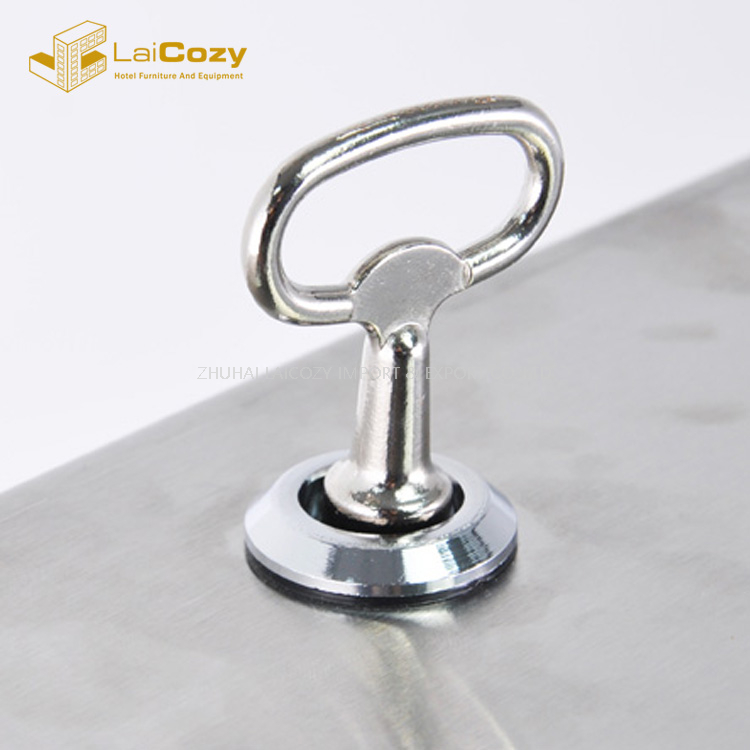 Stainless Steel Pedal Touch Free Soap Dispenser Stand