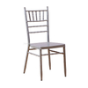Wholesale Aluminum Stackable Tiffany Wedding Party Chiavari Chair