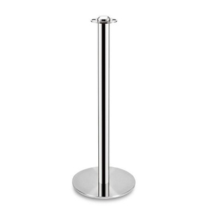 Golden stainless steel crowd control stanchion posts barrier
