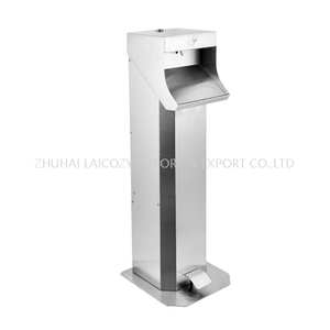 NEW 201 Stainless Steel Pedal Dispenser with Anti- Fingerprint