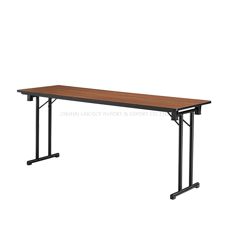 Wedding Event Metal Frame Foldable Dining Banquet Table