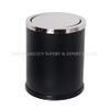 Bathroom small indoor dustbins with swing top cover