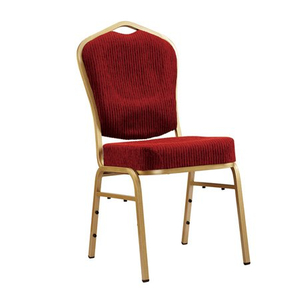 Stackable Dinning Steel Banquet Chair for Hotel Restaurant