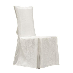 luxury fabric banquet chair cover with back tie for hotel