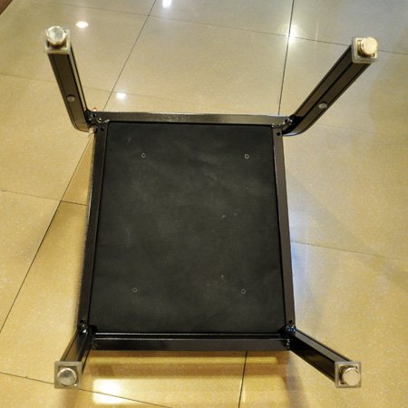 Hotel Banquet Aluminum Chair Modern Luxury Restaurant Chair with Adjustable Foot Pad