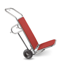 Hotel Lobby Mini 304 stainless steel Hand truck