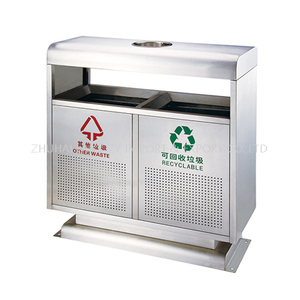 Indoor Dustbin Classified Environment-friendly Stainless Steel Garbage Can