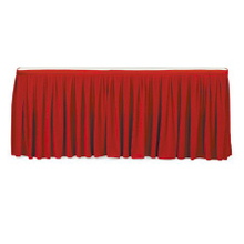 Hotel banquet table skirting good quality table cloth