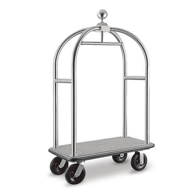 Stainless Steel Mobiled hotel baggage Carts