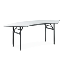 good quality hotel restanrant dining folding crescent table