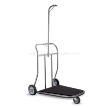 Laicozy Hotel Lobby Brushed Finish Suitcase Hand Truck