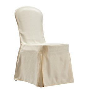 hotel banquet chair cover with sepcial design and colored fabric options for restaurant or wedding