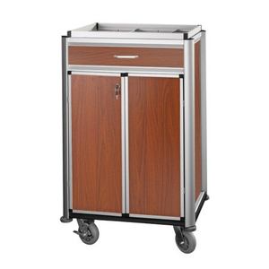 Beverage Restocking Multi-functional Maid Cart with Door And Drawer