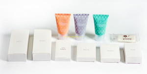 Eco-friendly hotel supplies bathroom amenities set for wholesale