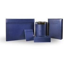 5 star hotel Leather accessories set guestroom